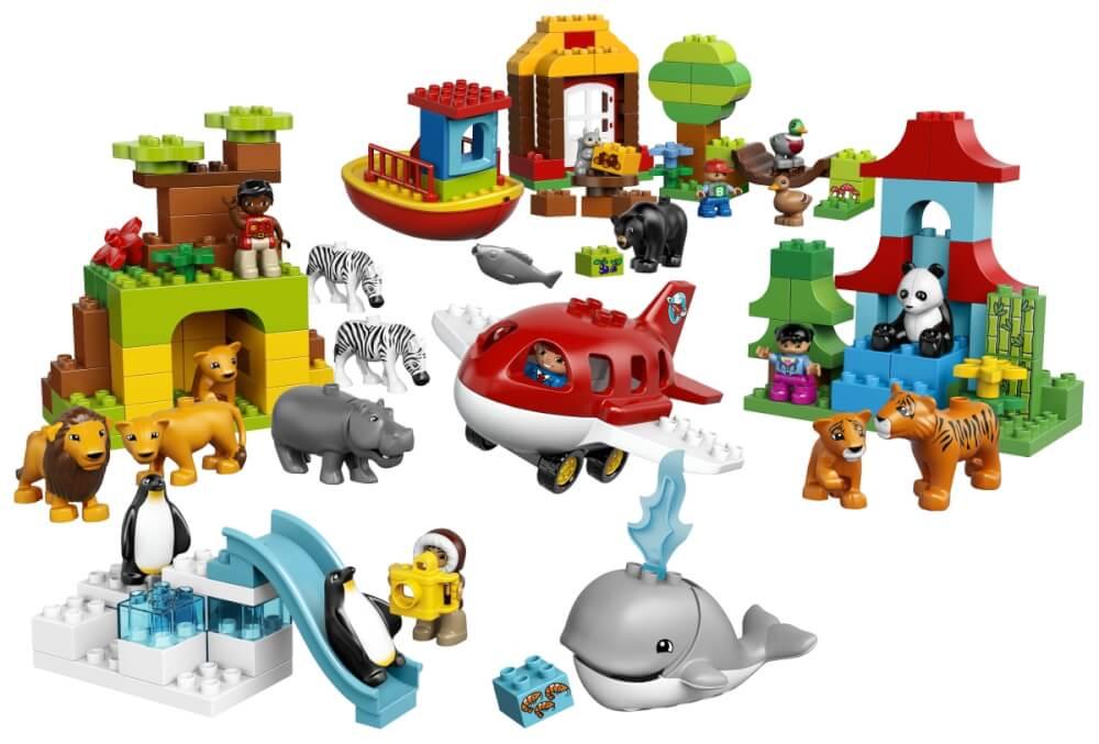 Lego Duplo 10805 Einmal Um Die Welt 162 Teile 162 Teile 10805