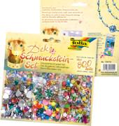 Folia - Schmucksteine-Set ca. 800 Teile