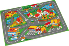 Quiet Town Teppich, 95x133 cm, mehrfarbig, Stoff