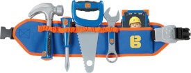 Simba Bob der Baumeister - Werkzeuggürtel inkl. 4 Werkzeugen und Smartphone, verstellbar, ab 3 Jahre