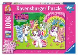 Ravensburger 105427  Puzzle Im Garten Papillia 100 Teile