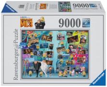 Ravensburger 178087 Puzzle Lustige Minions 9000 Teile