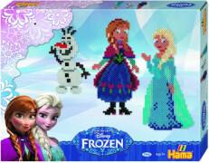 HAMA Bügelperlen Midi Disney Frozen - Die Eiskönigin Geschenkpackung, 4000 Stück