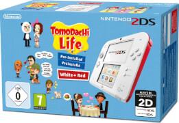 Nintendo 2DS 2DS HW White + TomodachiFür Kinder ab 0 Jahre