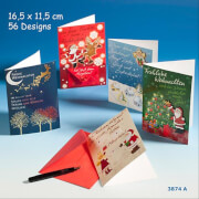Depesche 3874 Fröhliche Weihnachtsgrüße Klappkarten