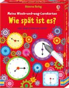 Meine Wisch-und-weg-Lernkarten: Wie spät ist es?