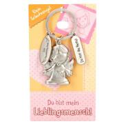 Depesche 7518 Schutzengel Schlüsselanhänger