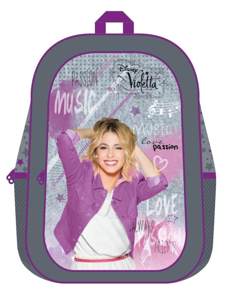 c7bd9758a8d17 Disney Violetta Schulrucksack aus Polyester VIAE7611 ▷ jetzt kaufen ...